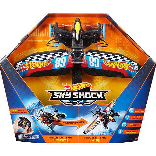 Hot Wheels Sky Shock Remote Control Vehicle - Race Design