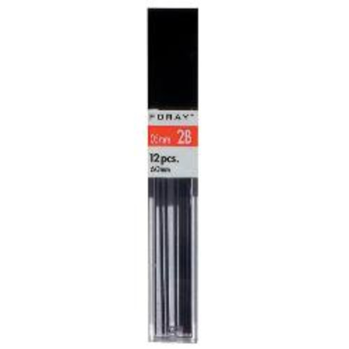FORAY Lead Refills, 0.5 mm, HB Hardness, Tube Of 12 Leads, Pack Of 12 Tubes