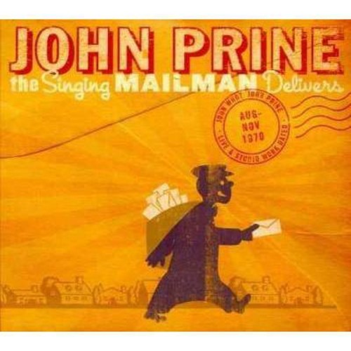 John prine - Singing mailman delivers (CD)