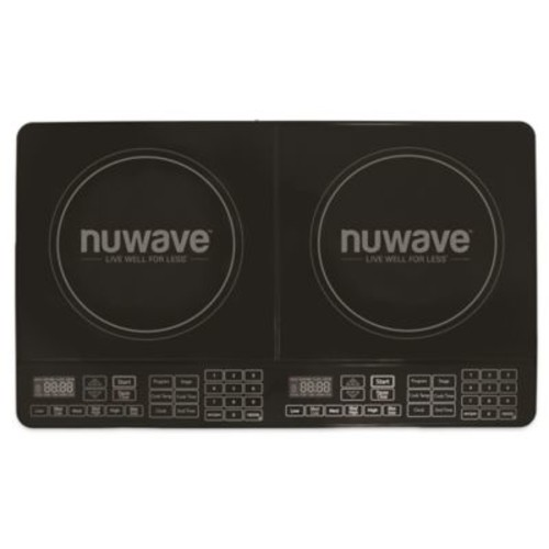NuWave Double Precision Induction Cooktop in Black