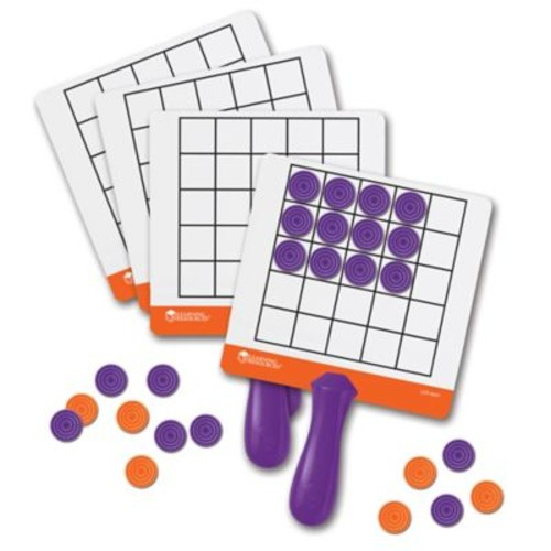 Learning Resources 105-Piece Magnetic Array Answer Boards Set