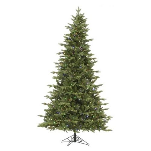 7.5 ft. Balsam Fir LED Pre-lit Artificial Christmas Tree -Multi-Color Lights