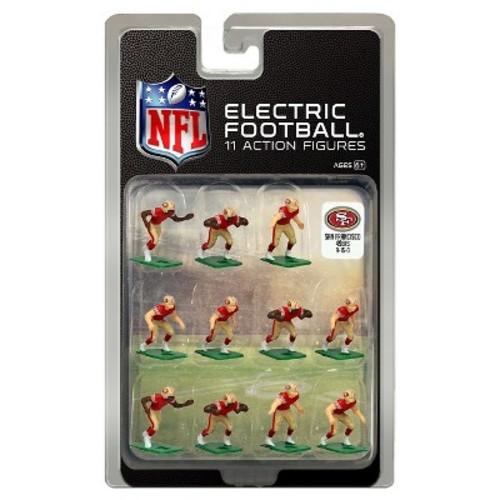 San Francisco 49ers Dark Uniform NFL Action Figure Set