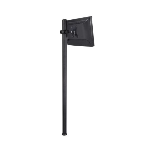 Atdec SD-DP-1150 Spacedec Donut Pole Mount with Quick Release Mechanism and 75x75/100x100mm VESA Support, 45.2-Inch, Black [Long]