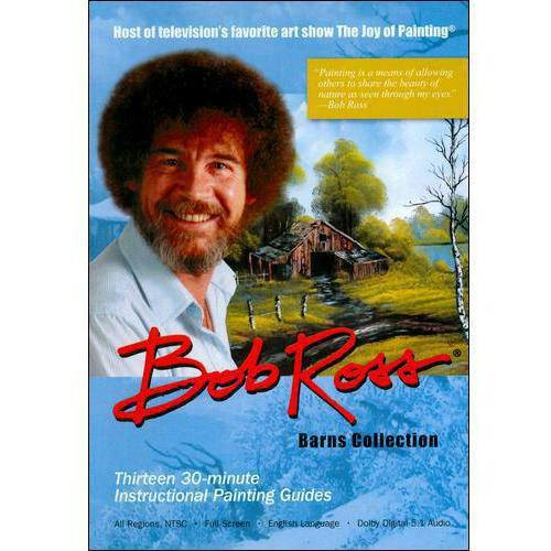 Bob Ross Joy Of Painting: Barns Collection (3 Disc) (DVD)