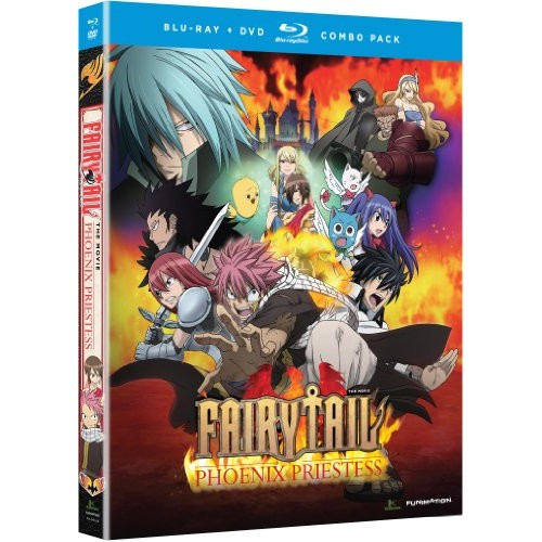Fairy Tail: Phoenix Priestess (Blu-ray + DVD) (Japanese)