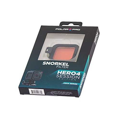 Polar Pro Red Snorkel Filter for GoPro HERO Session Cameras P7001