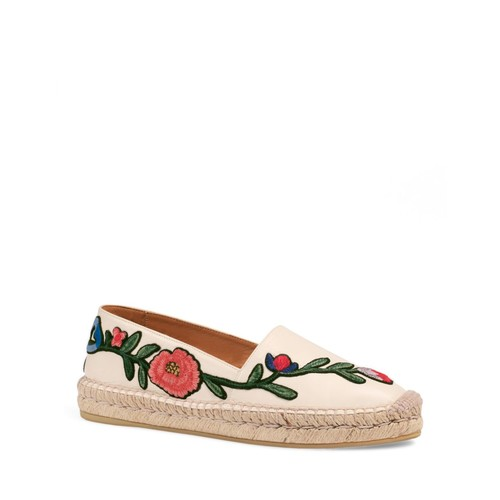 GUCCI Pilar Embroidered Espadrilles