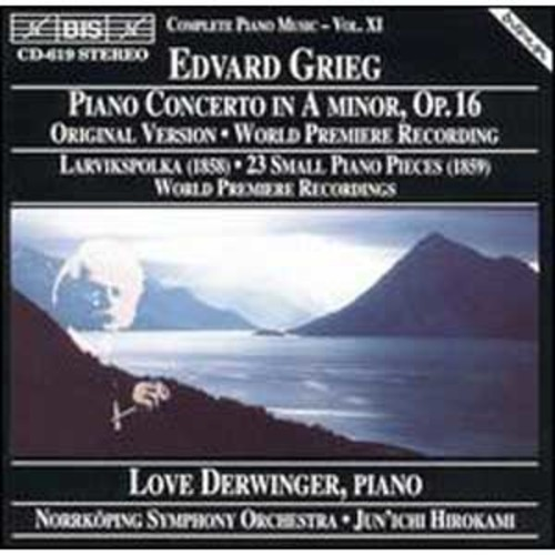 Grieg: Concerto for piano in Am; Small piano pieces EG104/23 By Love Derwinger (Audio CD)