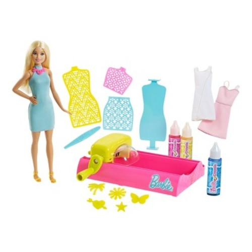 Barbie Crayola Color Magic Station and Doll