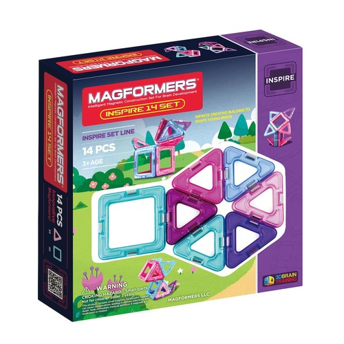 Magformers 14-pc. Inspire Set