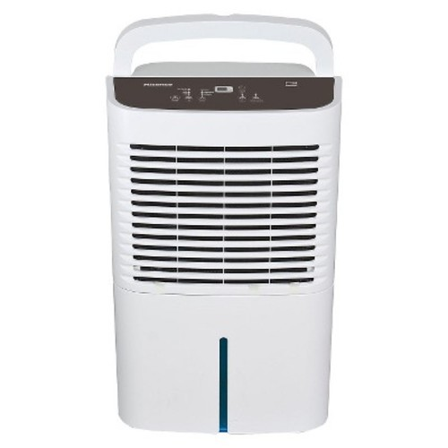 Hisense - 50 Pint Dehumidifier with Built-in Heater - White
