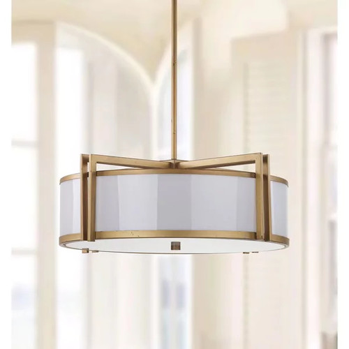 Safavieh Indoor 5-light Orb Drum Gold Pendant