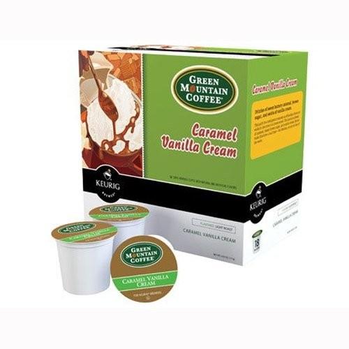 Green Mountain Coffee Caramel Vanilla, 18 Ct K-Cups