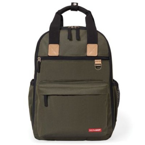 Skip*Hop Duo Diaper Backpack in Olive