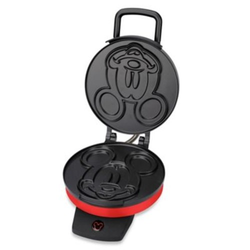 Disney Classic Mickey Mouse Waffle Maker in Red