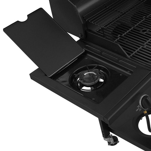 Char-Broil 505 sq in Charcoal/Gas Combo Grill, 1010