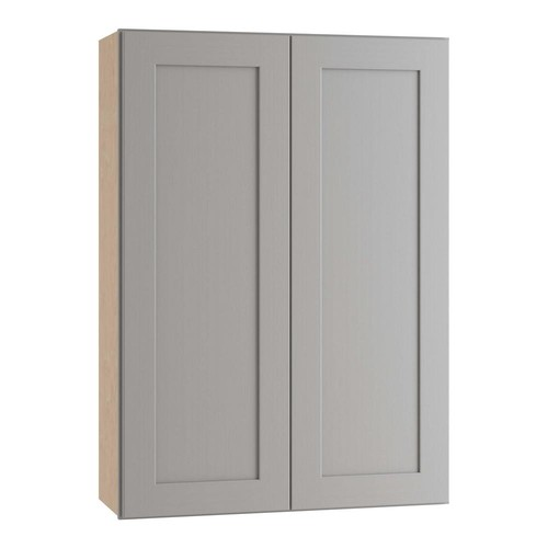 Home Decorators Collection Tremont Assembled 24 in. x 36 in. x 12 in. Wall Kitchen Cabinet with 2 Soft Close Doors in Pearl Gray