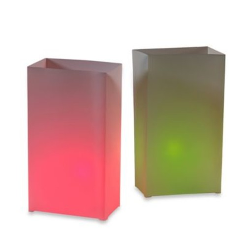 Electric Luminaria Kit in Red/Green (Set of 10)