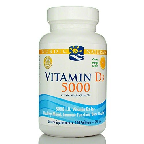 Nordic Naturals Vitmain D3 5000 [Frustration-Free Packaging]