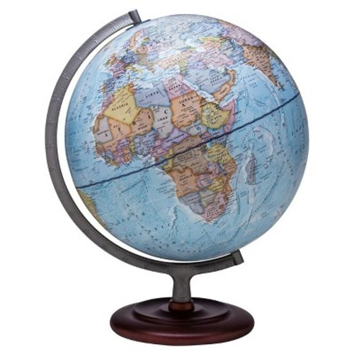 Waypoint Geographic Mariner II Illuminated Desktop Globe, 12