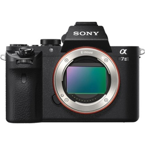 Sony Alpha 7II Mirrorless Interchangeable Lens Camera - Body Only