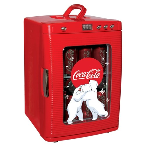 Coca Cola Beverage Dispensers & Drink Coolers Koolatron Coca Cola 28-Can Fridge