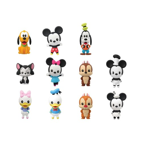 Disney Series 10 3D Foam Keyring - Mickey and Friends
