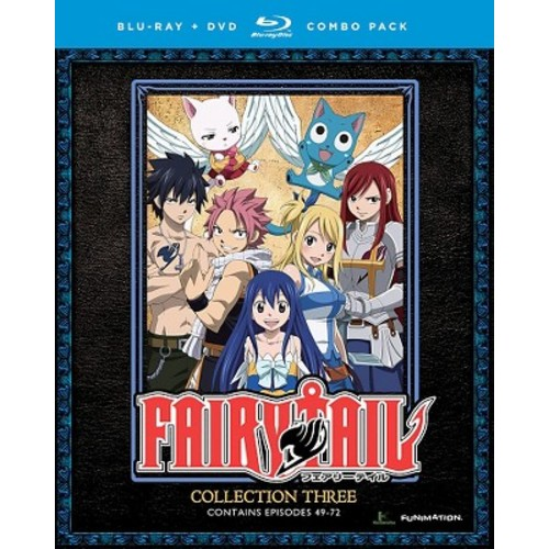 Fairy Tail: Collection Three [2 Discs] [Blu-ray/DVD]
