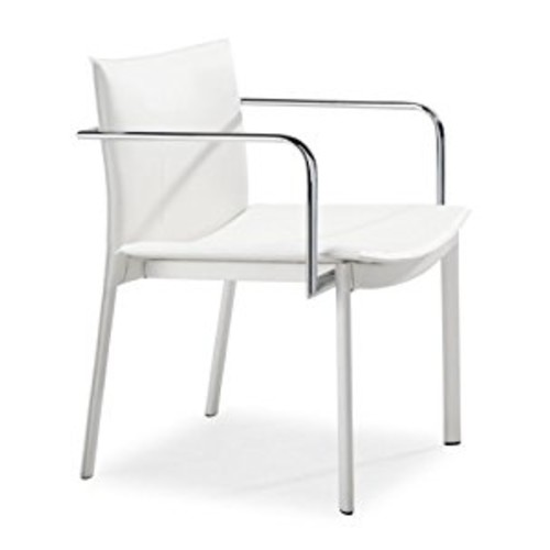 Zuo Gekko Conference Chair, White (Set of 2)