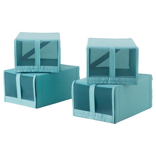 SKUBB Shoe box, light blue