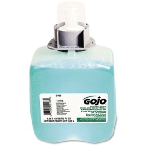 Gojo Foam Hair and Body Wash Refill for FMX-1250, 3/CT