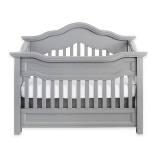 Baby Appleseed Millbury 4-in-1 Convertible Crib in Moon Grey
