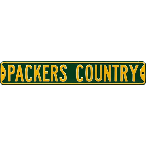 Authentic Street Signs Green Bay Packers Packers Country' Street Sign