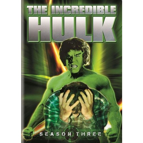 The Incredible Hulk: Season Three [5 Discs] [DVD]