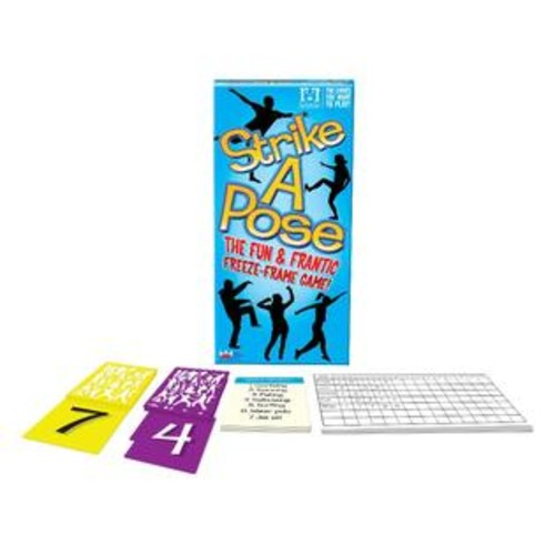 R & R Games Strike a Pose Party Game