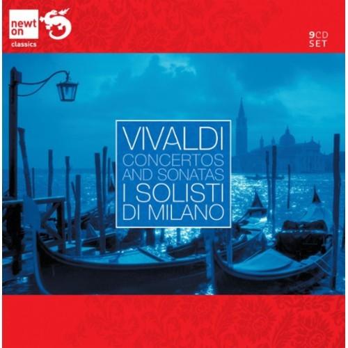 Vivaldi: Concertos and Sonatas [CD]