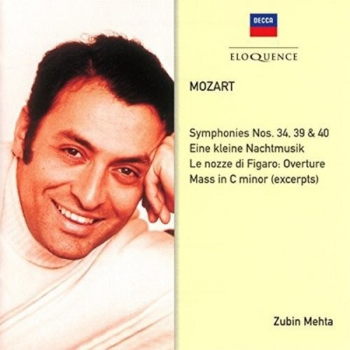 Mozart: Symphonies Nos. 34, 39, 40; Eine kleine Nacht Musik