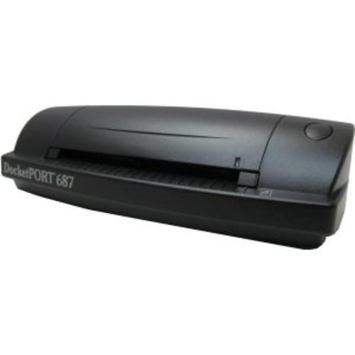 DCT DocketPort 687 Handheld Scanner DOCKETPORT 687 COLOR PORTABLE DUPLEX ID SCANNER USB 2.0 600DPI A6 48-bit Color - 16-bit Grayscale - USB