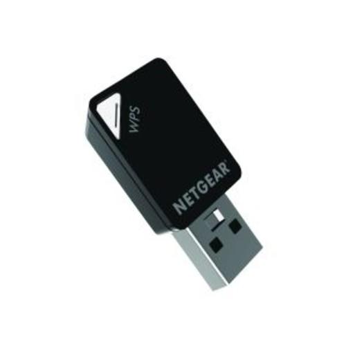 NetGear A6100 WiFi USB Mini Adapter - Network adapter - USB - 802.11b, 802.11a, 802.11g, 802.11n, 802.11ac (A6100-10000S)