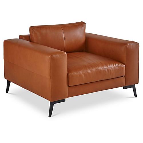 Wayfair Chair, Clay Leather