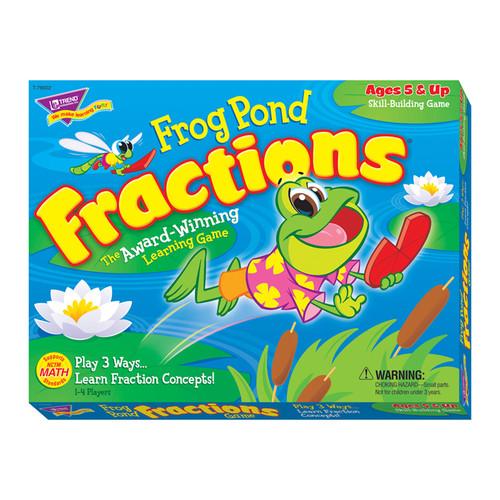 TREND Enterprises, Inc. Frog Pond Fractions Game Ages 5 & Up