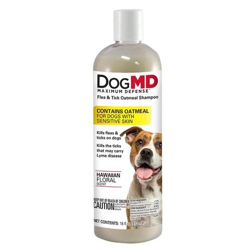 Dog MD Maximum Defense Flea & Tick Oatmeal Dog Shampoo