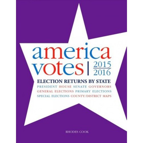 America Votes 32 2015-2016 : Election Returns By State (Hardcover) (Rhodes Cook)