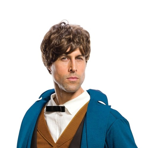 Mens Fantastic Beasts Newt Scamander Costume Wig