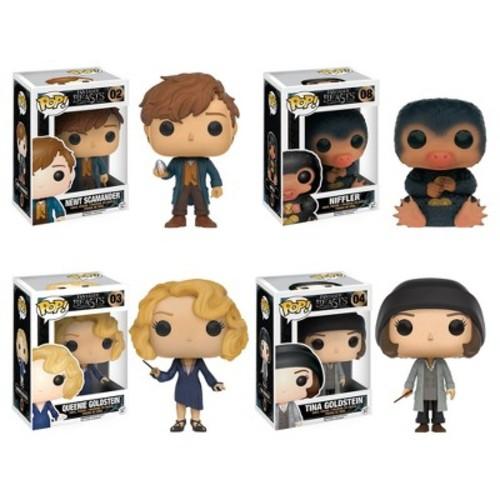 Funko Fantastic Beasts: POP! Movies Collectors Set; Newt, Niffler, Queenie, Tina