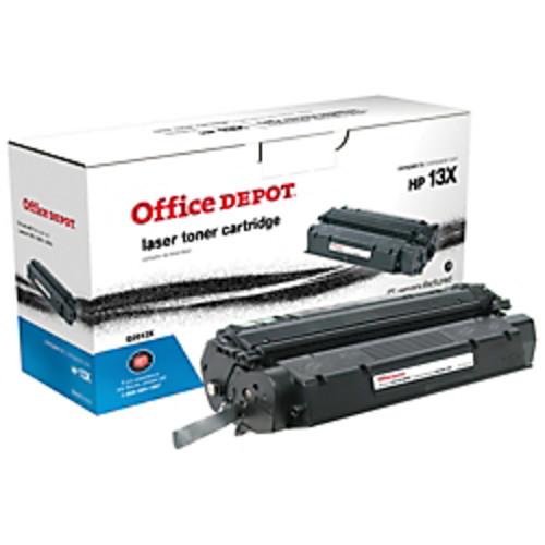 Office Depot Brand 13X (HP 13X) Remanufactured High-Yield Black Toner Cartridge
