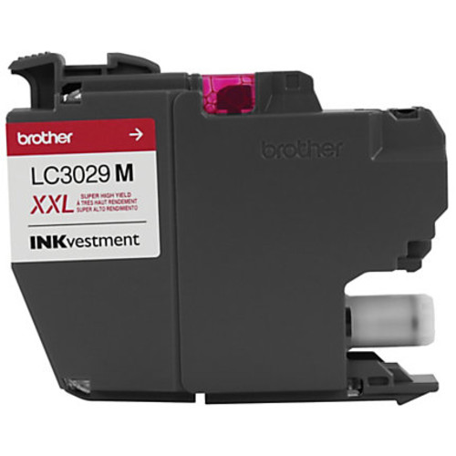 Brother INKvestment High-Yield Ink Cartridge, Magenta, LC3029M