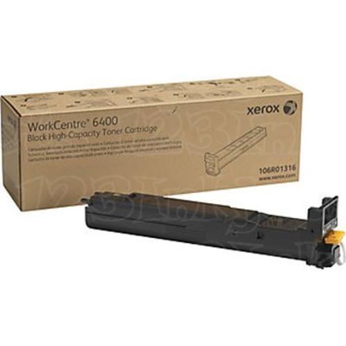 Xerox 106R01316 (106R1316) High-Capacity Black OEM Laser Toner Cartridge
