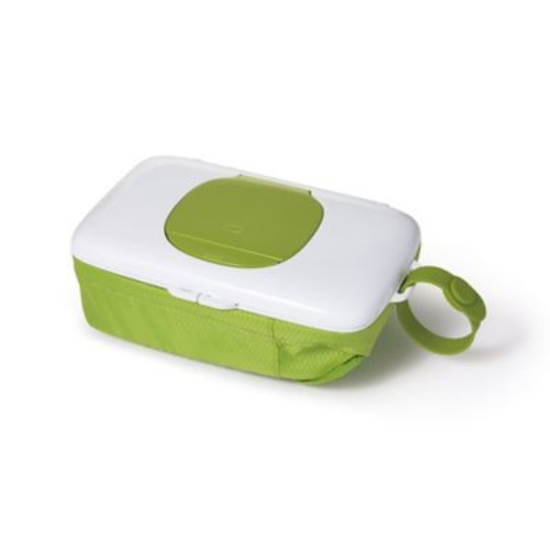 OXO tot On-the-Go Wipes Dispenser with Diaper Pouch in Green